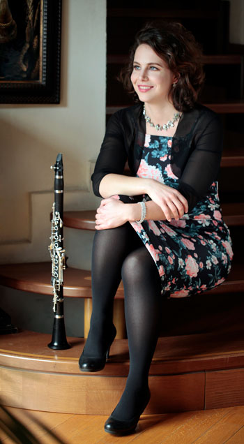 Kymia Kermani clarinet